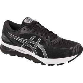 asics Gel-Nimbus 21 Kengät Miehet, black/dark grey